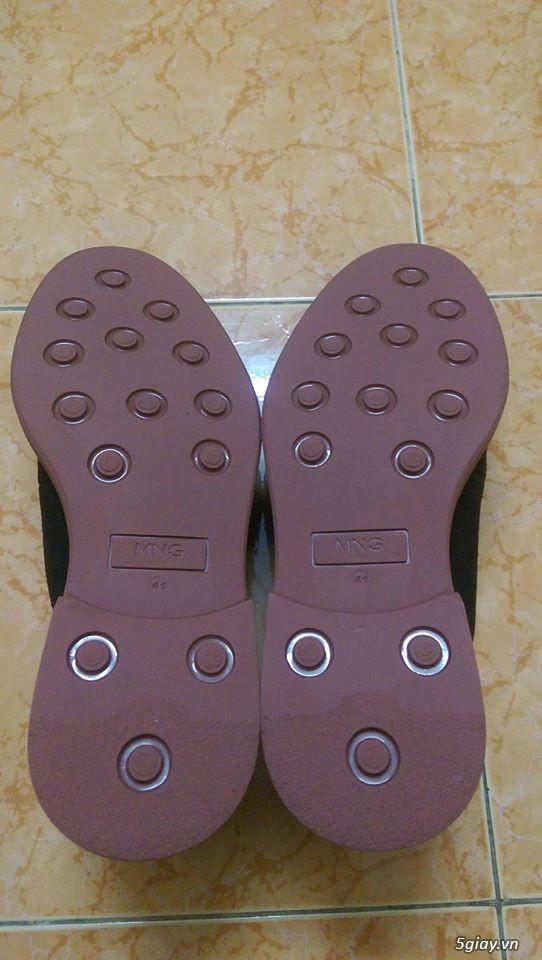 Đôi giày da lộn chính hãng Mango - 7
