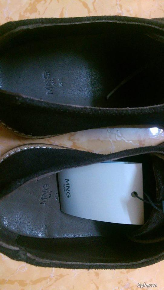 Đôi giày da lộn chính hãng Mango - 1