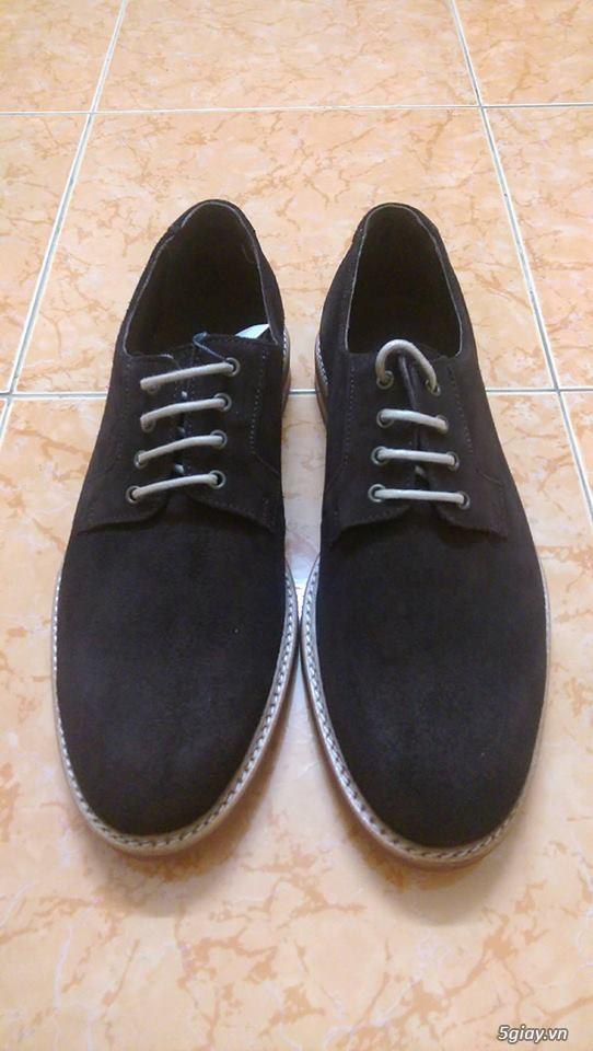 Đôi giày da lộn chính hãng Mango