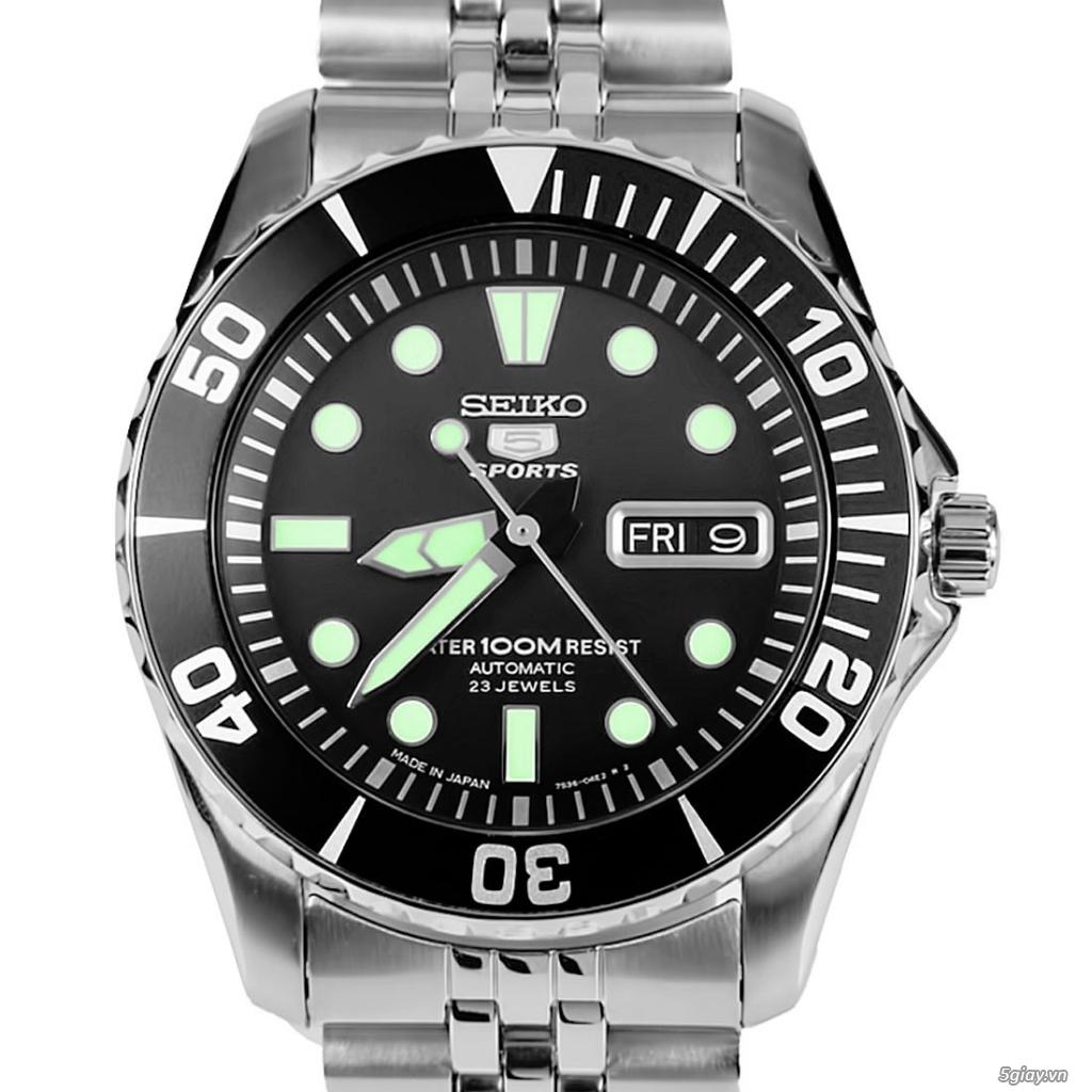 Đồng hồ Seiko - Citizen chính hãng - 9