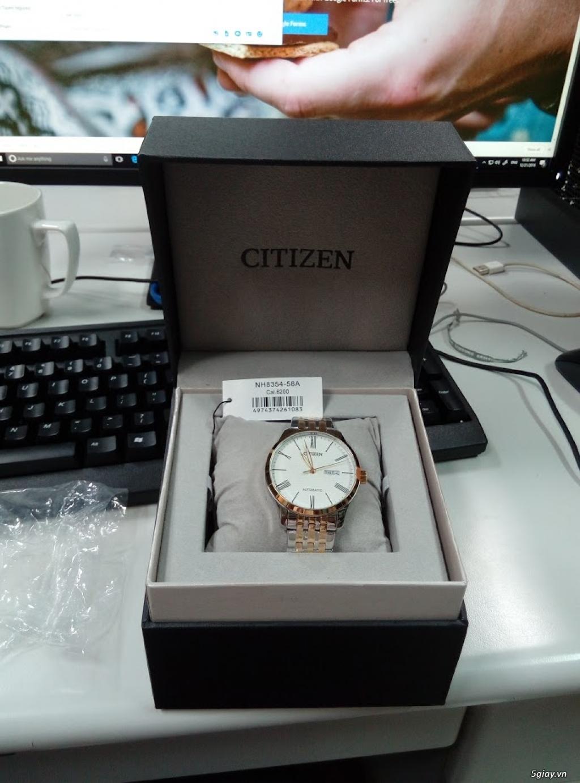 Đồng hồ Seiko - Citizen chính hãng - 2