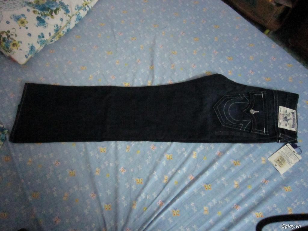 hàng hiệu ship từ mỹ:quần jean-kính true regilion (ông địa) nguyên tag - 4