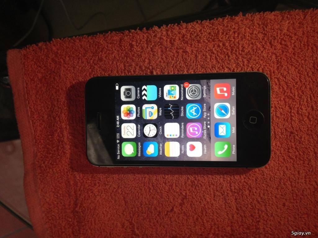 Iphone 4S Quốc tế màu đen