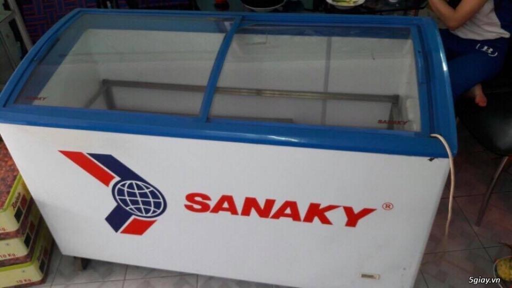 Sang quán nên cần thanh lý tủ đông Tủ đông Sanaky 418l tiết kiệm điện