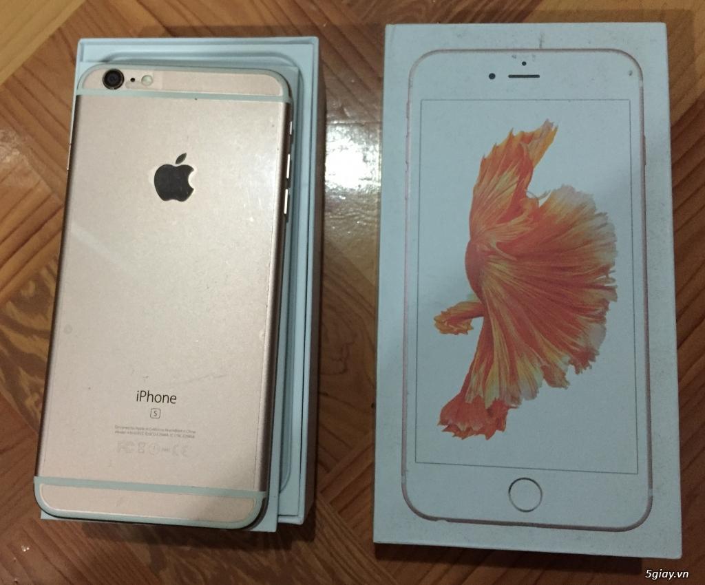 Bán iphone 6 plus rose 64gb QT