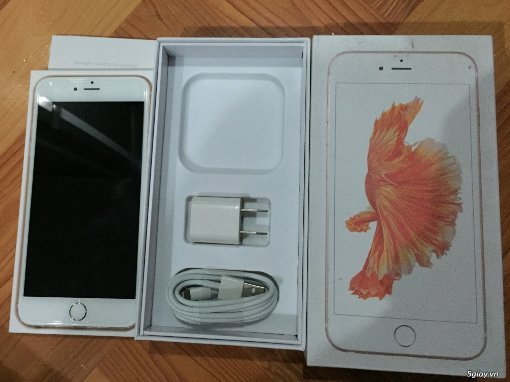 Bán iphone 6 plus rose 64gb QT - 1