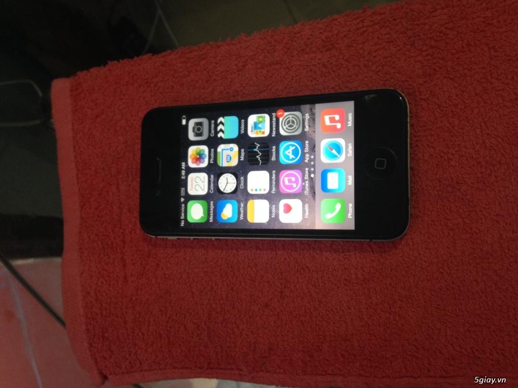 Iphone 4S Quốc tế màu đen - 2