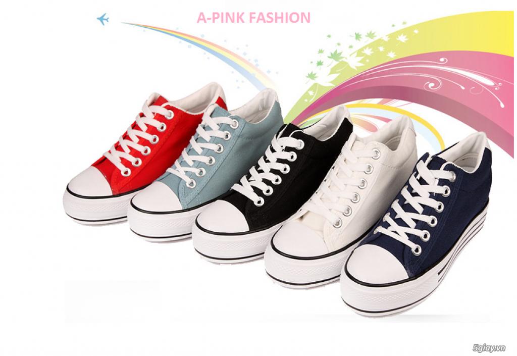 A-PINK FASHION SHOP CHUYÊN GIÀY CONVERSE - 1