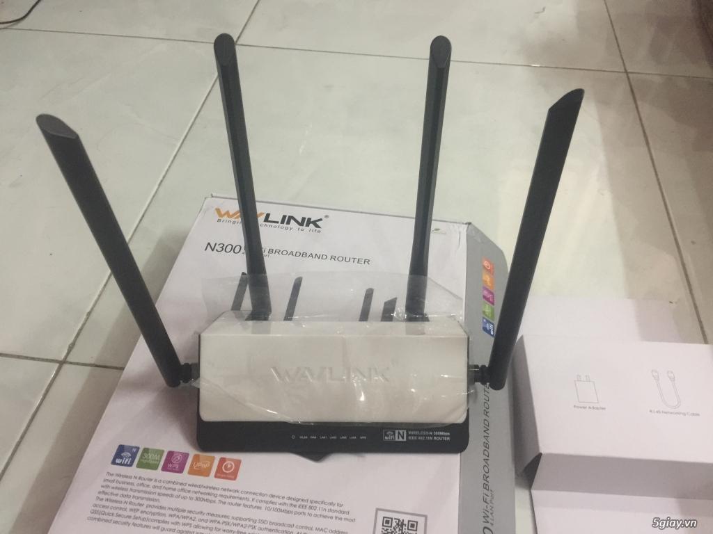 Bán lại Router Wifi dư xài (Wavlink mới 100%) còn bảo hành