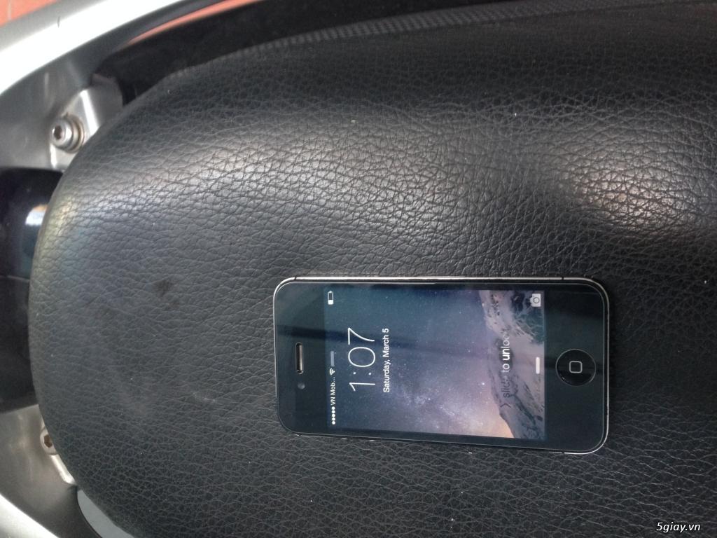 Iphone 4S Quốc tế màu đen - 3
