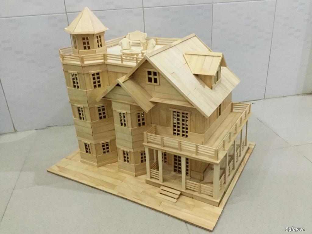 SunShineShop - Nhận đặt làm mô hình nhà que theo yêu cầu - 16