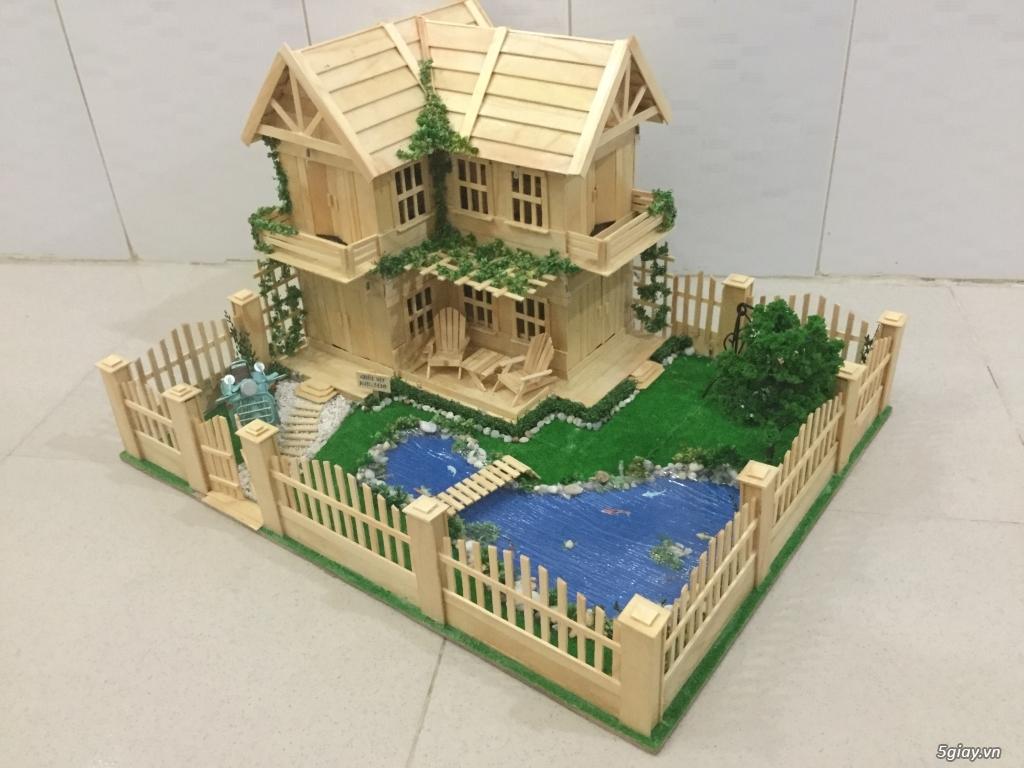 SunShineShop - Nhận đặt làm mô hình nhà que theo yêu cầu - 17