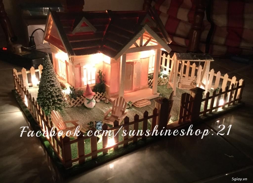 SunShineShop - Nhận đặt làm mô hình nhà que theo yêu cầu - 12