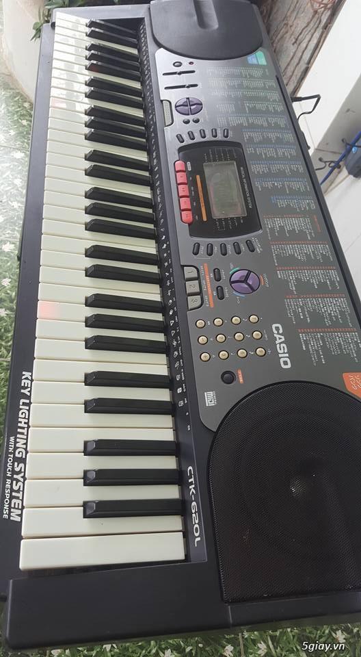 Đàn Japan đã sử dụng giá rẻ Piano Casio PX-400R ( 4 tr 3) Đà Nẵng - 3