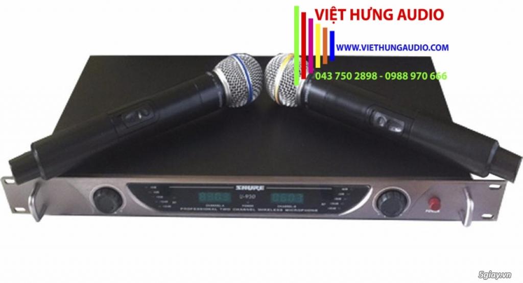 Micro không dây Shure U930 cho âm thanh chuẩn, giọng hát hay - 1