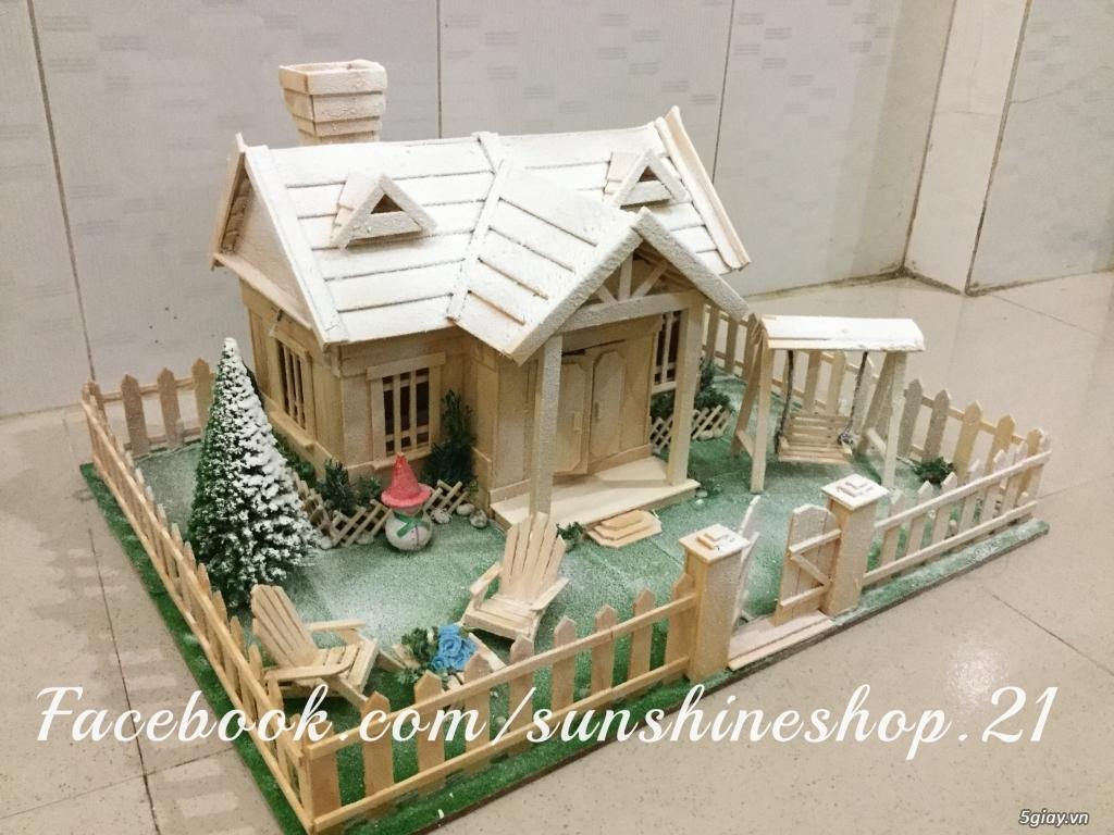 SunShineShop - Nhận đặt làm mô hình nhà que theo yêu cầu - 15