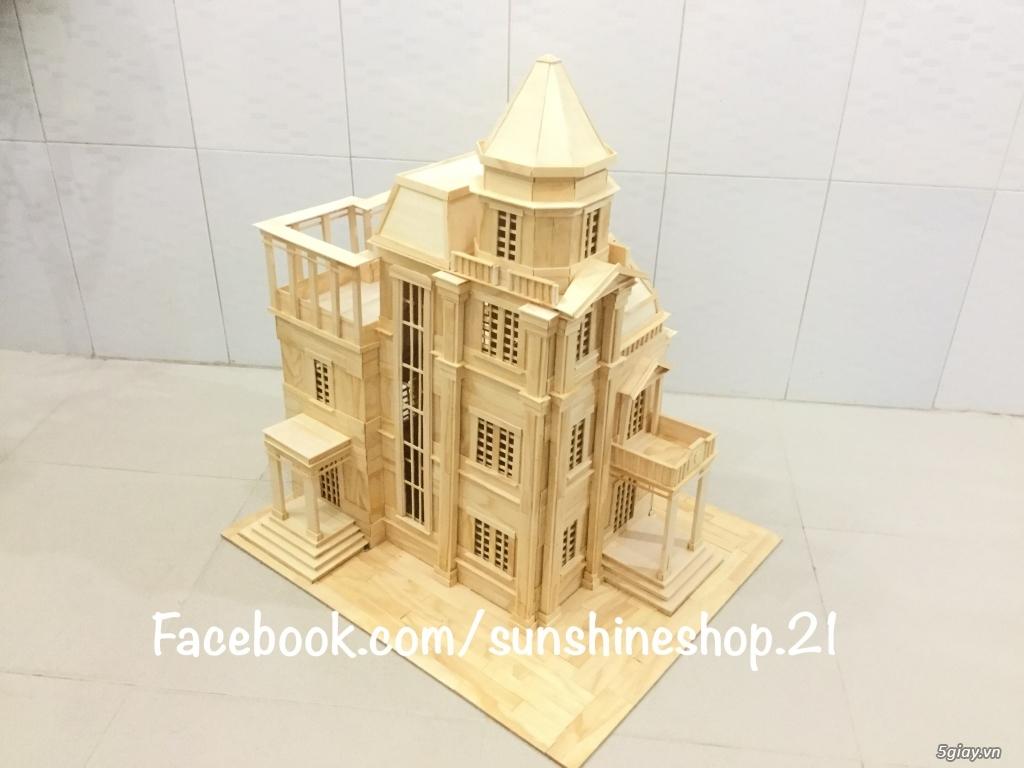SunShineShop - Nhận đặt làm mô hình nhà que theo yêu cầu - 14