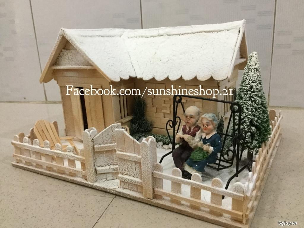 SunShineShop - Nhận đặt làm mô hình nhà que theo yêu cầu - 13