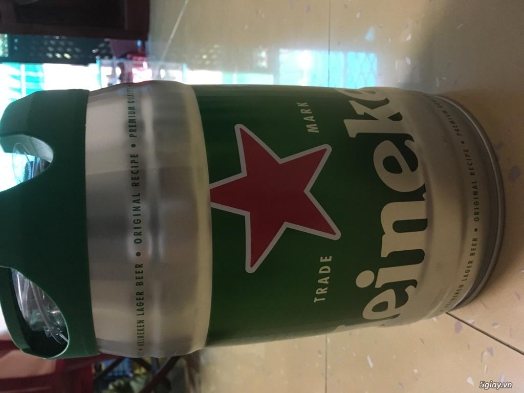 Bán bia heniken bom 5 lít, hàng hót cho mùa tết nha...giá tốt nhất 5s - 1