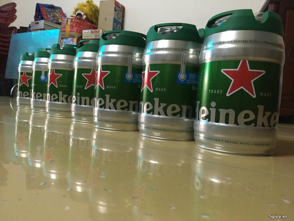 Bán bia heniken bom 5 lít, hàng hót cho mùa tết nha...giá tốt nhất 5s