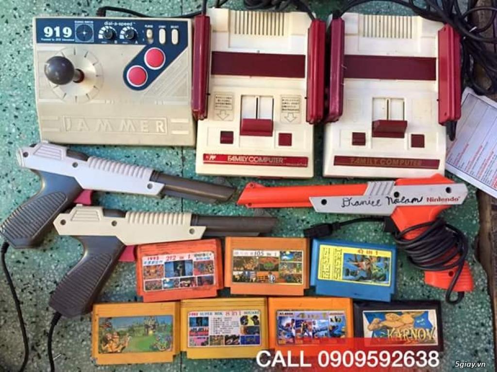 Máy Game Điện Tử Băng 4 nút Nhật , Thái, Đài Loan hàng cổ ngày xưa,có lun băng game, nes, snes, n64 - 1