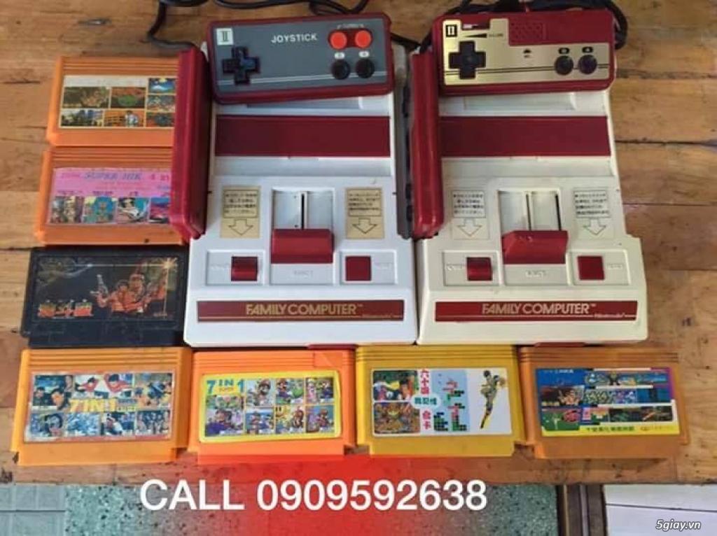 Máy Game Điện Tử Băng 4 nút Nhật , Thái, Đài Loan hàng cổ ngày xưa,có lun băng game, nes, snes, n64 - 8