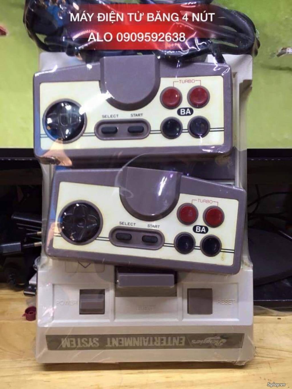 Máy Game Điện Tử Băng 4 nút Nhật , Thái, Đài Loan hàng cổ ngày xưa,có lun băng game, nes, snes, n64 - 7