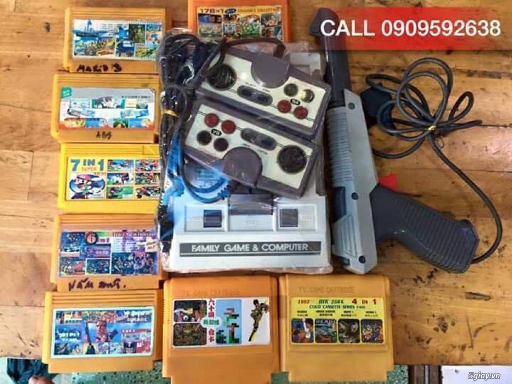 Máy Game Điện Tử Băng 4 nút Nhật , Thái, Đài Loan hàng cổ ngày xưa,có lun băng game, nes, snes, n64 - 5