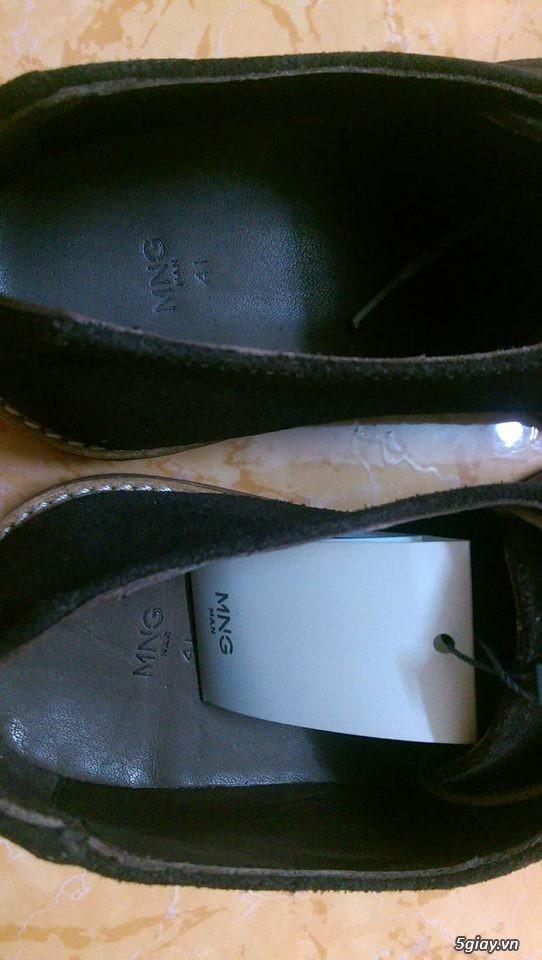 Giày da lộn Mango 100% size 41 + Brogue Banana Republic 99% size 43 - 1