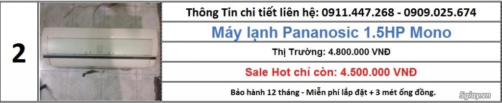 Cty Lê Phạm Chuyên Máy Lạnh Cũ Hàng Chính Hãng Zin 100% - 2
