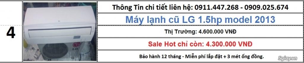 Cty Lê Phạm Chuyên Máy Lạnh Cũ Hàng Chính Hãng Zin 100% - 6