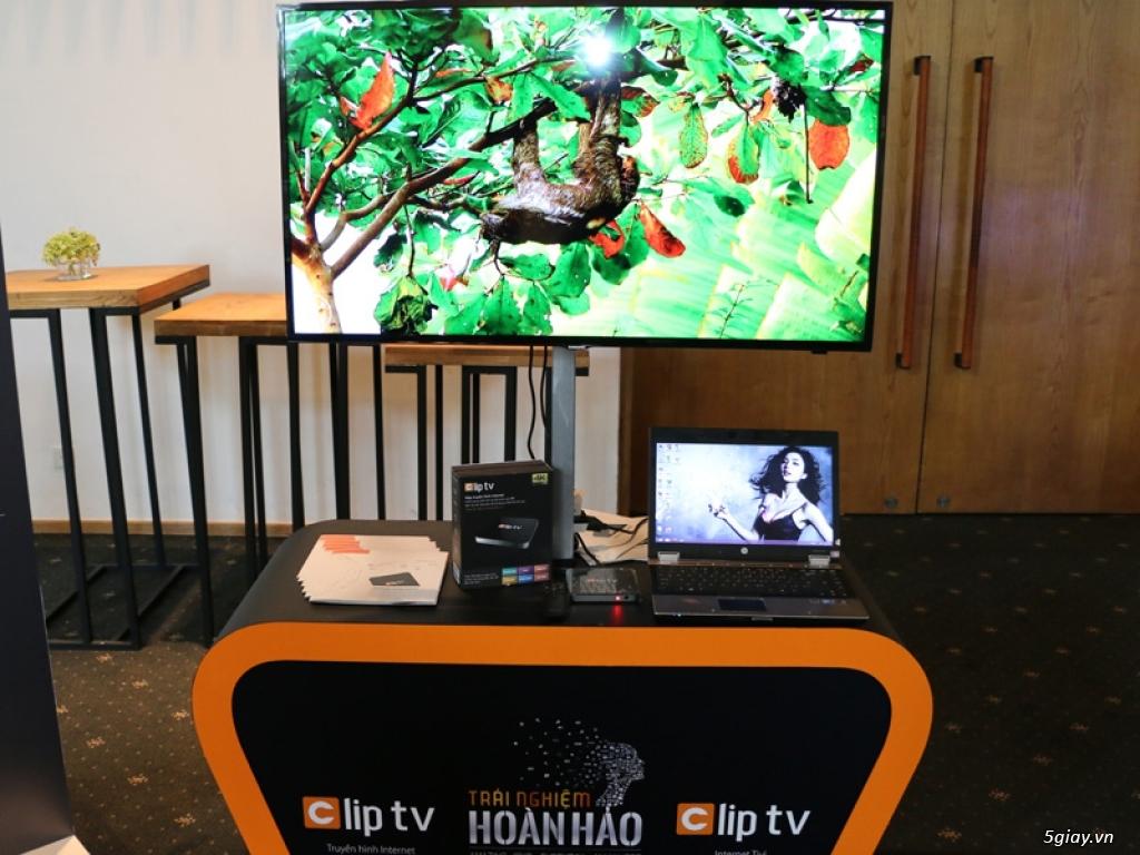 Ra mắt truyền hình mạng Clip TV thuê bao 50K/tháng cho 4 thiết bị - 161990