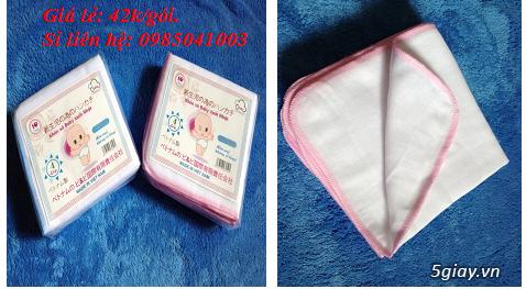 Chuyên sản xuất các mặt hàng khăn xô, khăn sữa, khăn tắm sơ sinh - 4