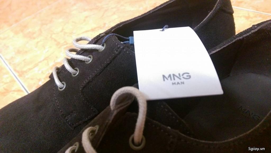 Giày da lộn Mango 100% size 41 + Brogue Banana Republic 99% size 43 - 3