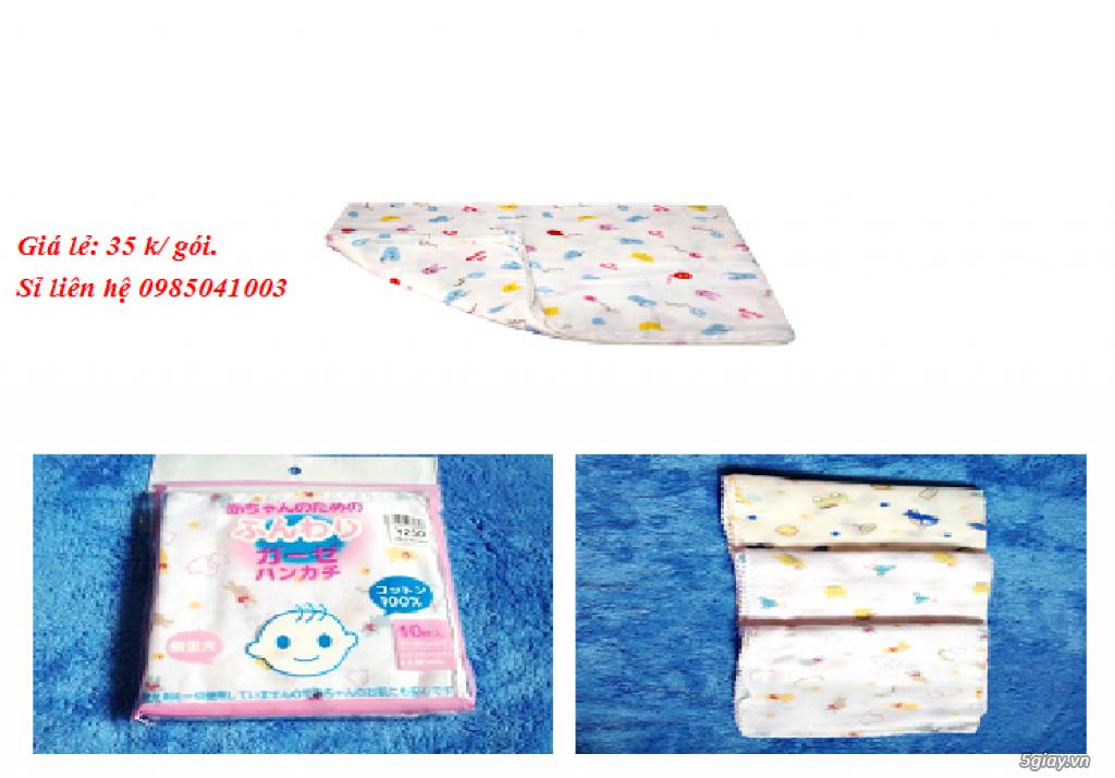 Chuyên sản xuất các mặt hàng khăn xô, khăn sữa, khăn tắm sơ sinh - 2
