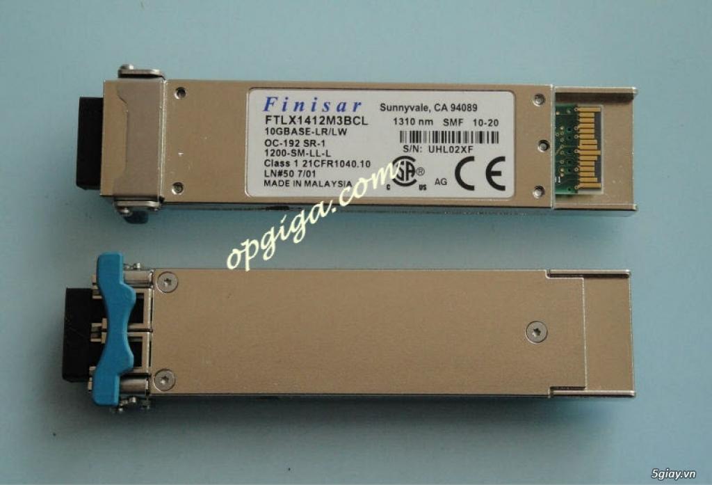 Module quang SFP Cisco - Finisar - Deltal - WTD - Huawei - Avago - 4