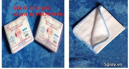 Chuyên sản xuất các mặt hàng khăn xô, khăn sữa, khăn tắm sơ sinh - 3