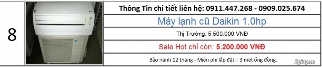 Cty Lê Phạm Chuyên Máy Lạnh Cũ Hàng Chính Hãng Zin 100% - 14