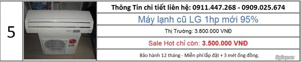 Cty Lê Phạm Chuyên Máy Lạnh Cũ Hàng Chính Hãng Zin 100% - 8