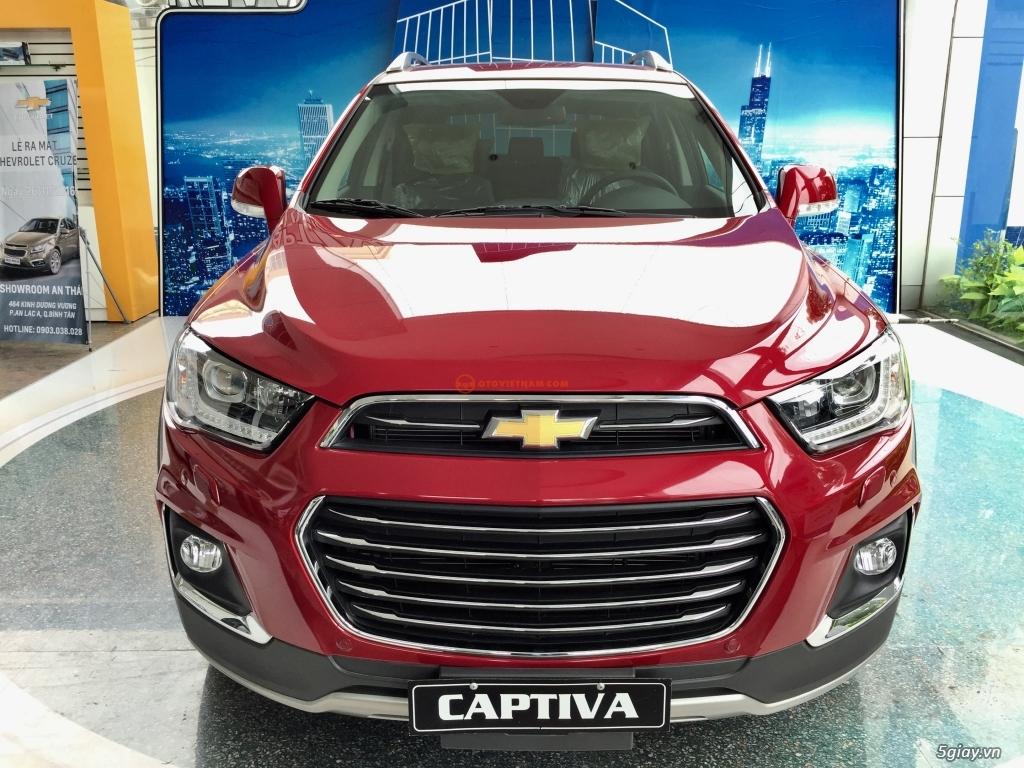 Chevrolet Captiva Revv 2017, vay đến 90%, giao xe ngay, đủ màu - 7