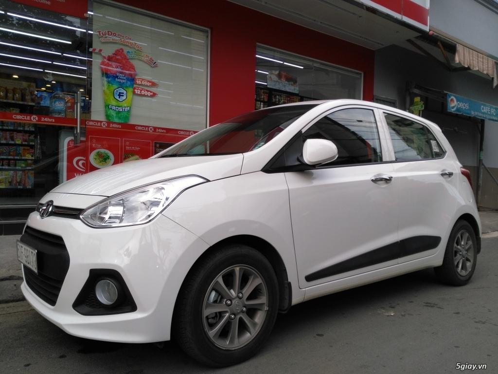 ChoThuê ôtô: Hyundai i10-AT, HợpĐồngDàiHạn, TàiXế Riêng.