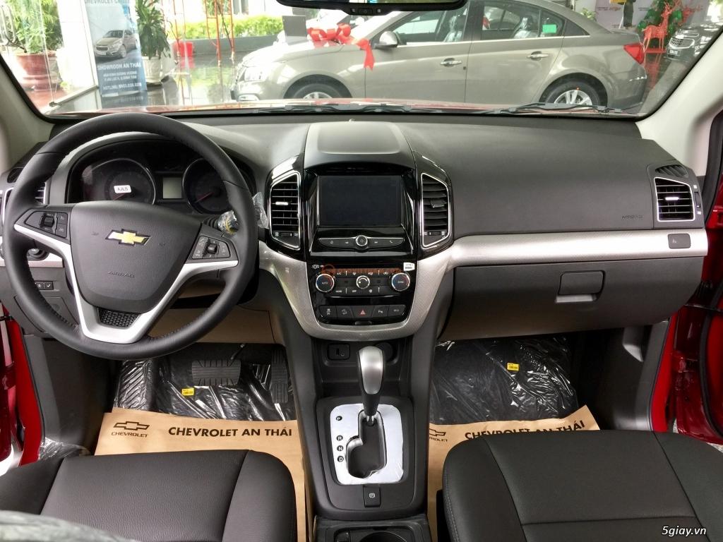 Chevrolet Captiva Revv 2017, vay đến 90%, giao xe ngay, đủ màu - 13