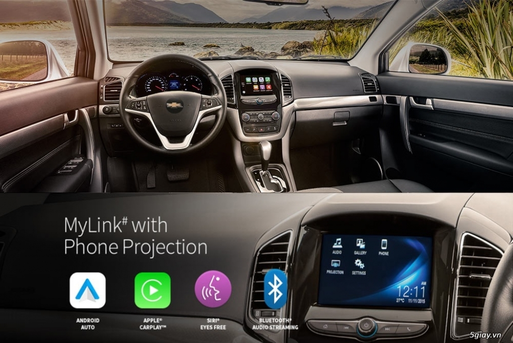 Chevrolet Captiva Revv 2017, vay đến 90%, giao xe ngay, đủ màu - 11