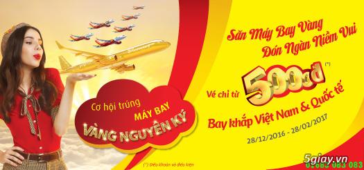vé máy bay giá rẻ đi Thanh Hóa của VietjetAir dịp têt 2017