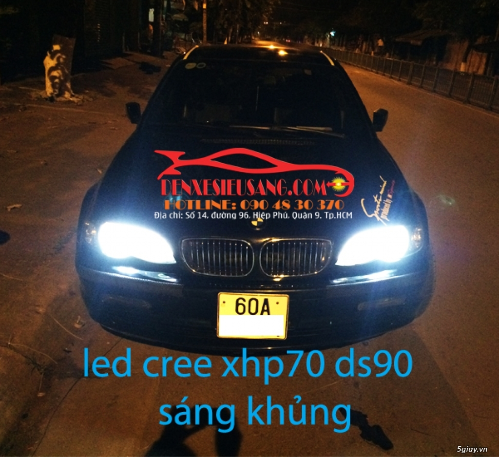 led cree philips lumiled cho o to xe may chinh hang gia mem nhat sai gon - 5