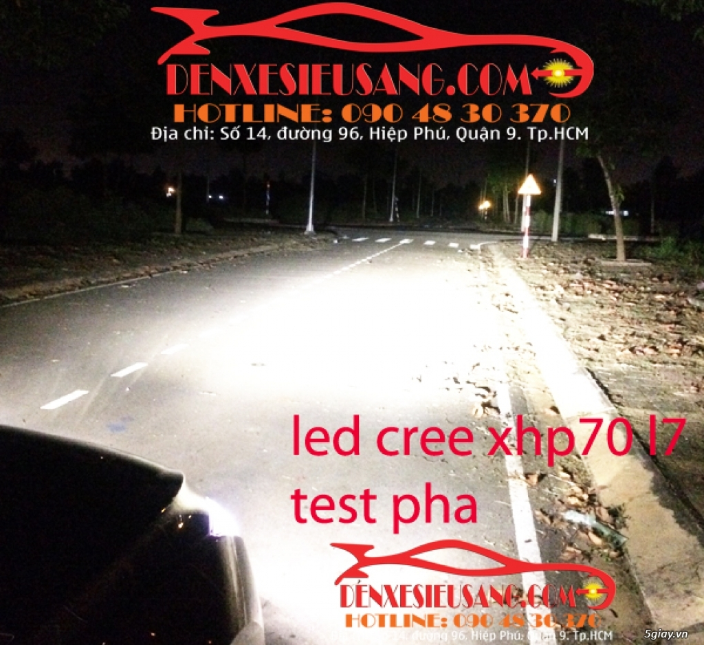 led cree philips lumiled cho o to xe may chinh hang gia mem nhat sai gon - 30