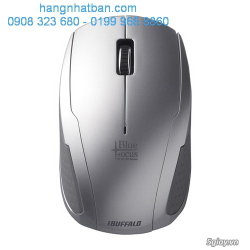 Chuột  không dây công nghệ BlueLED Focus Buffalo. chuyển đổi USB ra LAN...Hàng về từ Nhật giá good. - 8