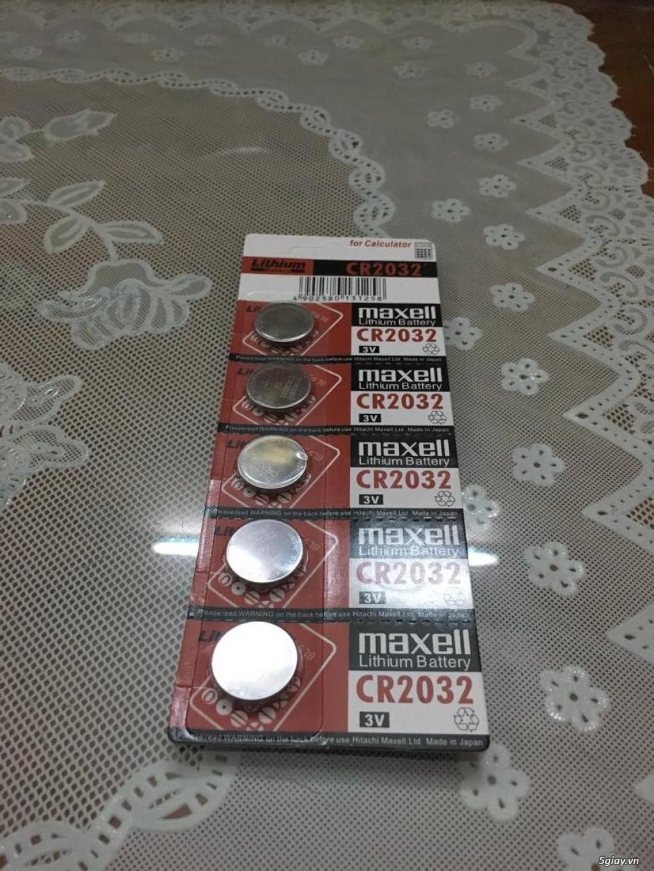 Pin cmos Maxell CR2032 Lithium 3V hàng Nhật