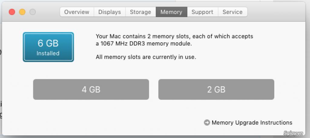 Cần bán macbook pro 15.4 inch mid 2009 - 4