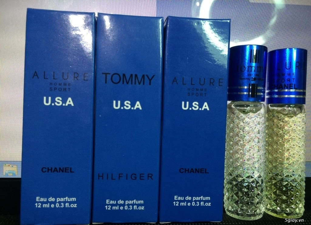 Nước hoa tinh dầu dạng lăn 12ml USA !!! - 3